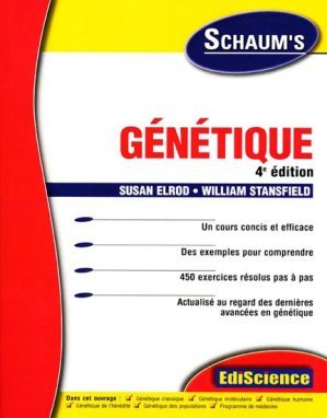 Génétique - Susan ELROD, William STANSFIELD - 9782100066537 ...