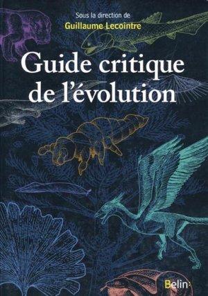 Guide Critique De Lévolution Guillaume Lecointre Corinne Fortin