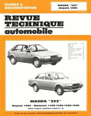 mazda 39 39 323 39 39 depuis 1985 moteurs 1100 1300 1500 1600 tous. Black Bedroom Furniture Sets. Home Design Ideas