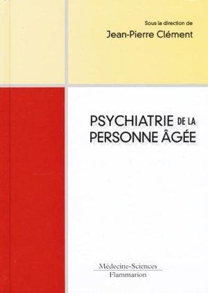 Psychiatrie De La Personne Agee Jean Pierre Clement
